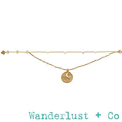 Wanderlust+Co 生日石系列- 四月手鍊