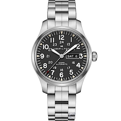 Hamilton Khaki Day Date極地冒險機械錶(H70535131)42mm
