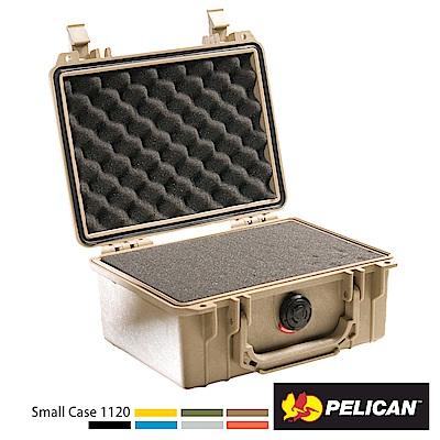 美國 PELICAN 1120 氣密箱-含泡棉(沙漠黃)