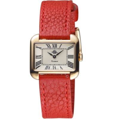 玫瑰錶Rosemont戀舊系列時尚手錶(RS58-01-Red)