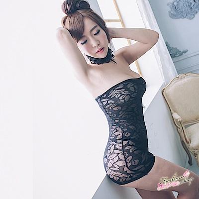 平口性感窄裙 俏臀修身短裙情趣內衣褲 裸背情趣睡衣 流行E線