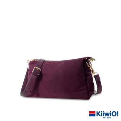 Kiiwi O! 輕量尼龍實用三層兩用包 KIANA 紫