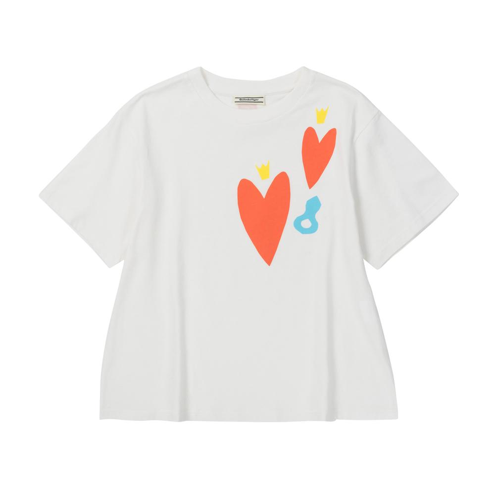OT x Heart Project 聯名短袖上衣2182A231-100