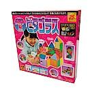 日本PEOPLE-4歲女孩的華達哥拉斯磁性積木組合(4Y+)(STEAM教育玩具)