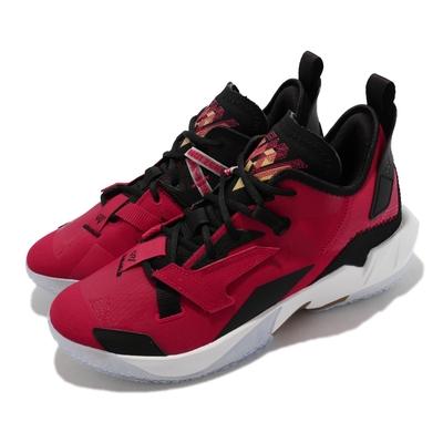 Nike 籃球鞋 Jordan Why Not Zero 4  男鞋 喬丹 氣墊避震 明星款 包覆支撐 紅 白 DD4886-600