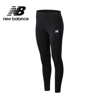 New Balance 懷舊系列同色Logo棉質緊身褲_女性_黑色_WP01522BK