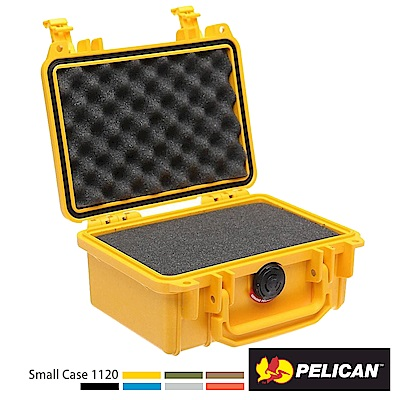 美國 PELICAN 1120 氣密箱-含泡棉(黃)