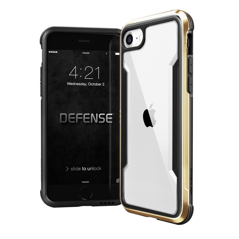 DEFENSE 刀鋒極盾II iPhone SE 2020/SE2 耐撞擊防摔手機殼(原色金)