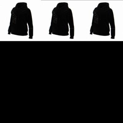 Nike 帽T Icon Clash Fleece 女款 NSW 運動休閒 連帽上衣 大勾勾 穿搭 黑 銀 DC0653010