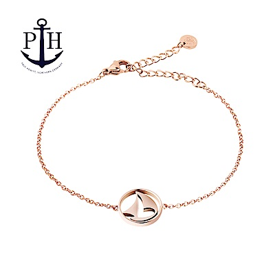 PAUL HEWITT Bracelet Sail Away 帆船玫瑰金手鍊
