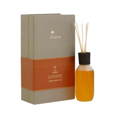 安垛小姐-泰國頂級香氛SPA divana 四經典元素室內擴香(火):生薑橄欖 240ml