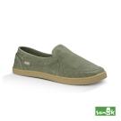 SANUK 復古水洗帆布休閒鞋-女款(草綠色)