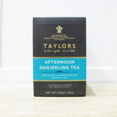 英國皇家泰勒茶Taylors 大吉嶺午茶紅茶包(20入/盒)
