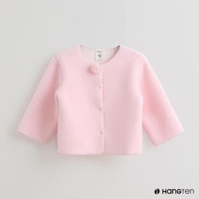 Hang Ten-童裝-Sanrio-純色可愛圖樣刷毛排扣外套