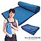 Leader X 超細纖維吸汗止滑瑜珈鋪巾 藍色 - 急 product thumbnail 2