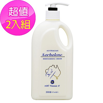 G&M Sorbolene Moisturising Cream甘油保濕乳霜500g 2入