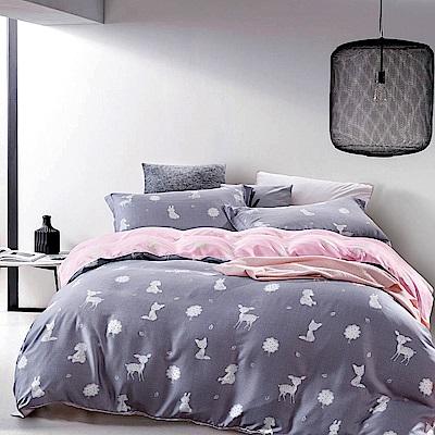 Saint Rose 夢露 加大100%純天絲兩用被套床罩八件組