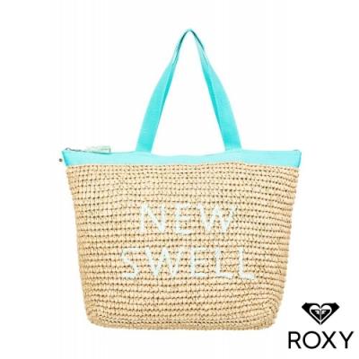 【ROXY】HEARD THAT SOUND 草編包 綠