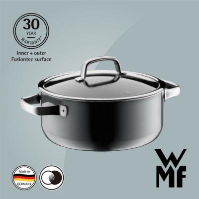 德國WMF Fusiontec 低身湯鍋24cm/4.4L-鉑灰色(快)