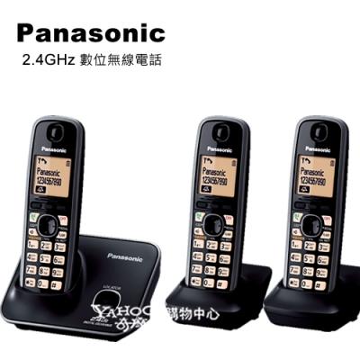 Panasonic 2.4GHz 數位大字體無線電話 KX-TG3712+1 (3手機組)