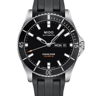 MIDO 美度Ocean Star海洋之星自動上鏈款(M0264301705100)x黑面橡膠款x42.5mm