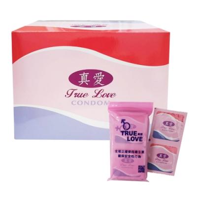 真愛 平面衛生套 保險套(144片/盒)