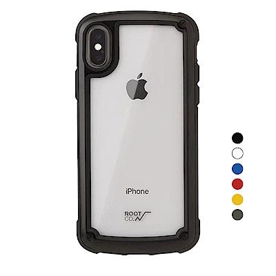 日本ROOT CO. iPhone X/Xs透明背板手機殼