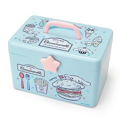 Sanrio 大耳狗喜拿雙層式PP收納提箱/化妝提箱(美式餐點)