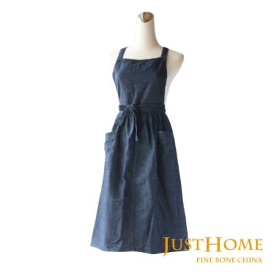Just Home印度製純棉圍裙 連身裙