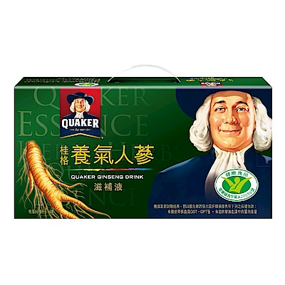 (大宗採購)桂格 養氣人蔘滋補液60ml*18入