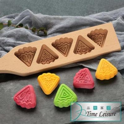 Time Leisure 高級木質月餅糕點模具棍/烘焙用具