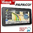 PAPAGO! GoPad 7超清晰Wi-Fi 7吋聲控導航平板~附加行車記錄器功能 -急速配