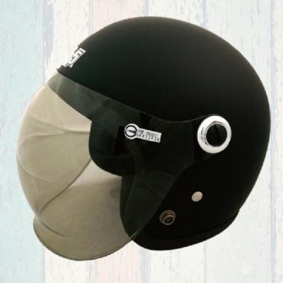【T-MAO】素色 多色可選 泡泡鏡 復古帽 3/4罩(安全帽│機車│內襯│鏡片│開放式安全帽│GOGORO T1)