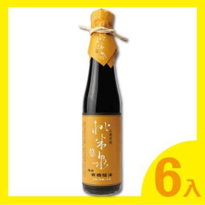 桃米泉 頂級有機蔭油6瓶(410ml/瓶)