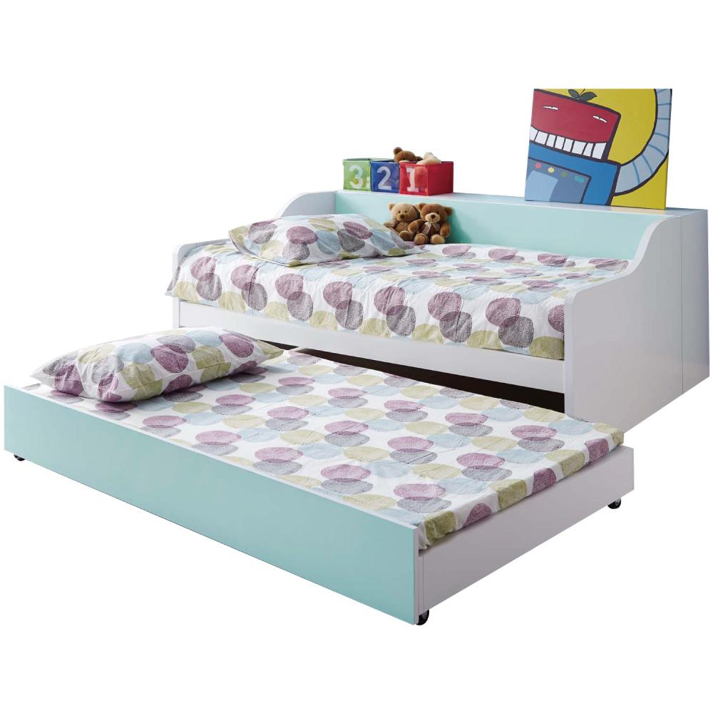 文創集 柯利森3.5尺單人子母床台組合(不含床墊)-142.5x195x90cm免組 @ Y!購物