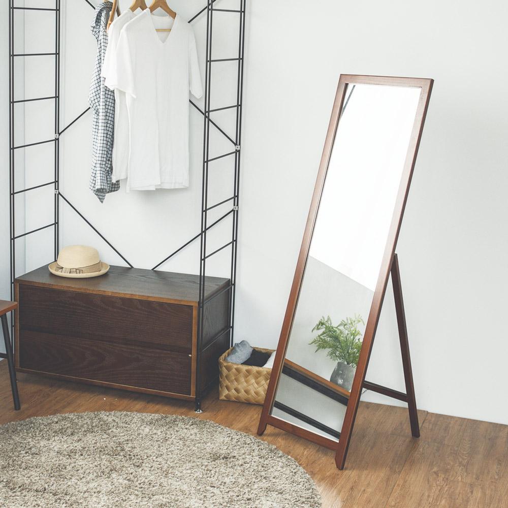 完美主義 全身鏡/立鏡/穿衣鏡/加寬(3色) 40x47x136 product image 1