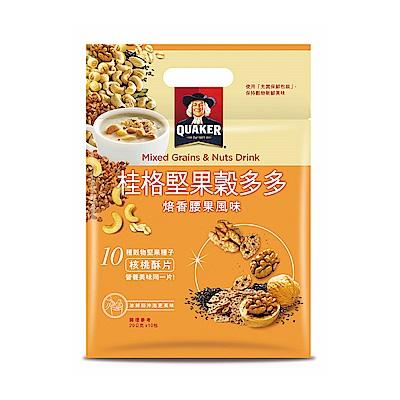 桂格 堅果穀多多系列-焙香腰果風味(10入/袋)