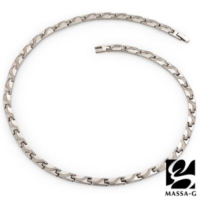 MASSA-G【流光時刻】純鈦能量項鍊(金屬鍺8顆)