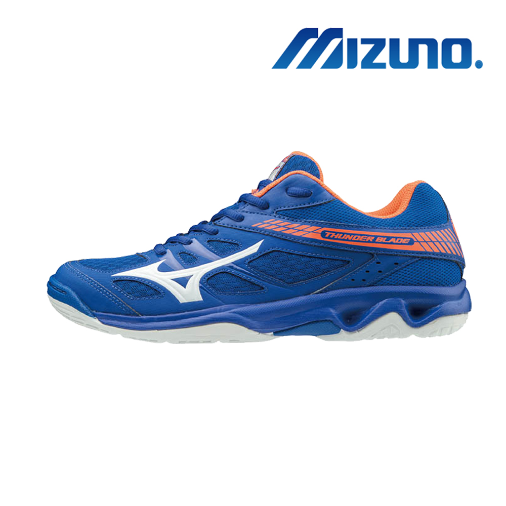 MIZUNO THUNDER BLADE 寬楦 男女排球鞋 V1GA177000