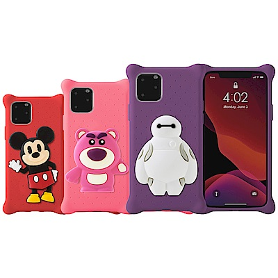 【BONE】IPhone11 Pro Max- 迪士尼授權角色-公仔泡泡保護套
