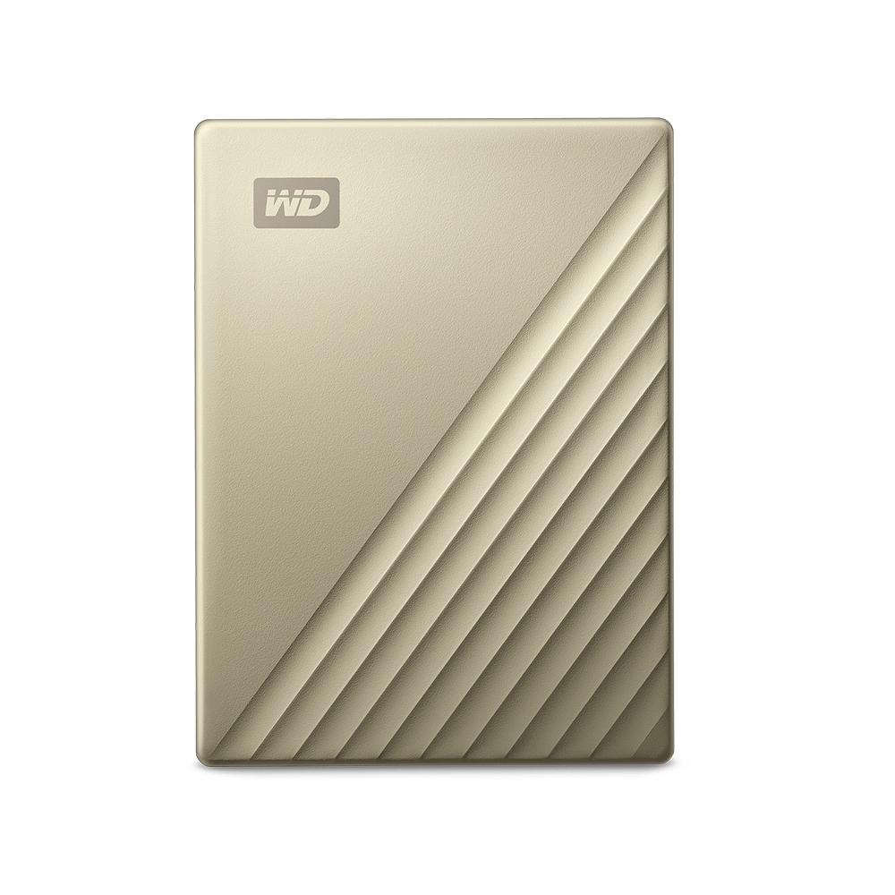 WD My Passport Ultra 2TB(閃耀金) 2.5吋USB-C行動硬碟