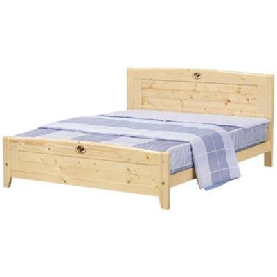 Boden-簡約松木5尺雙人床(不含床墊)