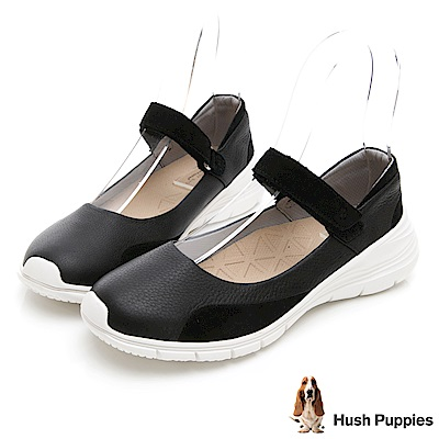 Hush Puppies CYPRESS 輕量休閒鞋-黑