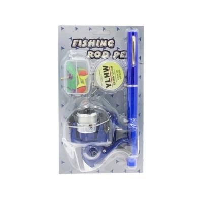 【LOTUS】升級版鋼筆釣竿 金屬捲線器 1.6米加長款