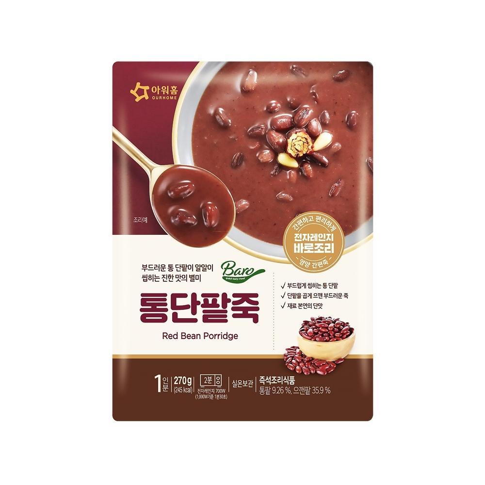 韓味不二【韓國原裝】紅豆粥 (270g)