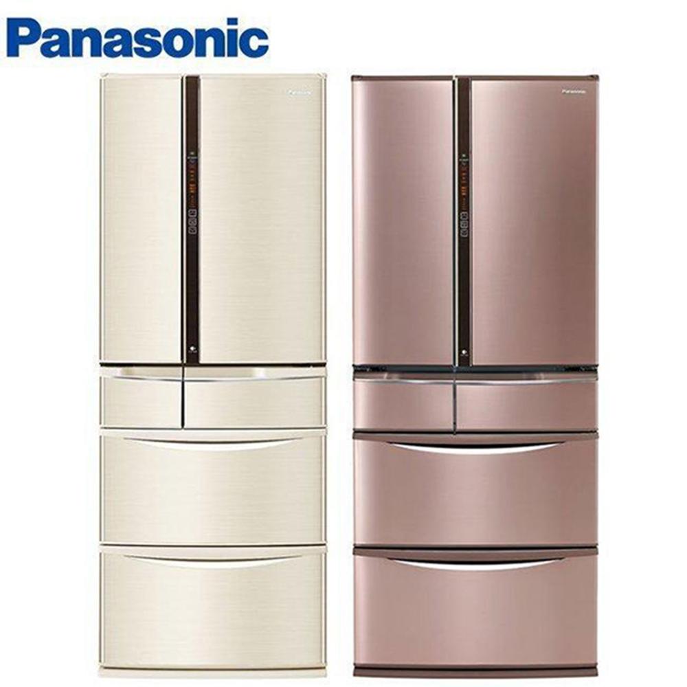 Panasonic國際牌601L1級變頻6門電冰箱NR-F604VT