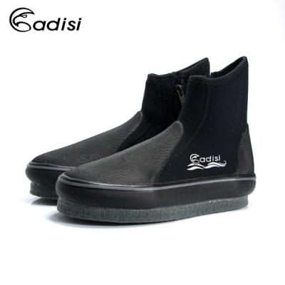 ADISI 長筒防滑鞋AS18020 黑色|17~30 (潛水,溯溪)