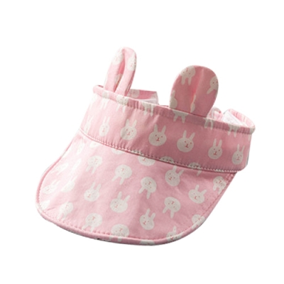 Baby童衣 兒童遮陽帽 小耳造型空頂帽 男寶寶女寶寶防曬帽 透氣軟簷空頂鴨舌帽 88483