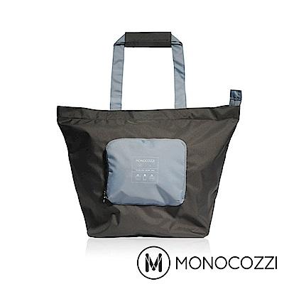 MONOCOZZI Bon Voyage 旅行折疊手提肩背包(S) - 炭黑
