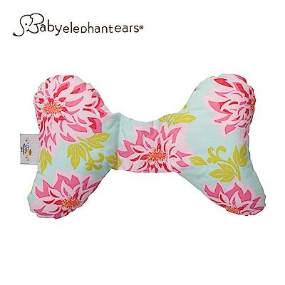 Baby Elephant Ears 寶寶護頸枕 - 粉綠花朵